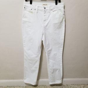 🥳HOST PICK🥳Hi waist Madewell Jeans Straight Crop